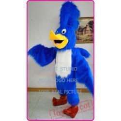 Mascot Blue Roadrunner Mascot Cotume Anime