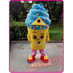 Cupcake Icecream Mascot Costume