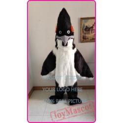 Mascot Long Hair Plush Roadrunner Mascot Costume