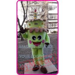 Mascot Birthday Cake Mascot Costume