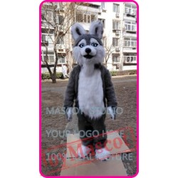 Mascot Plush Huskey Dog Mascot Costume