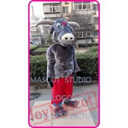 Mascot Muscle Bull Mascot Cow Costume