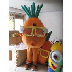 Mascot Carrot Mascot Vegetable Costume
