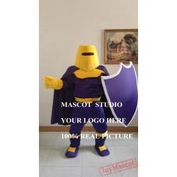 Mascot Purple Knight Mascot Spartan Costume Trojan Cosplay Cartoon Anime