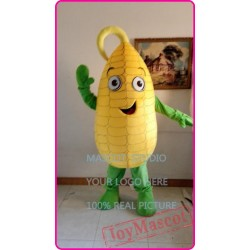 Mascot Yellow Corn Mascot Maize Costume