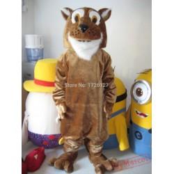 Cougar Panther Leopard Jaguar Mascot Costume