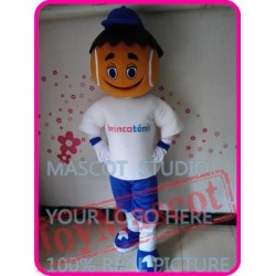 Mascot Tennis Boy Mascot Costume