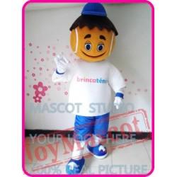 Mascot Tennis Boy Mascot Costume