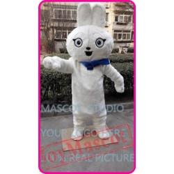 Mascot Plush White Rabbit Bunny Mascot Costume