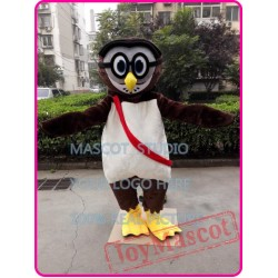 Cartoon Owl Mascot Costume
