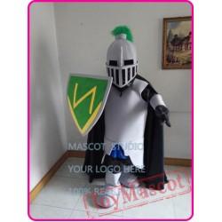 Mascot Green Knight Mascot Spartan Trojan Costume Cartoon