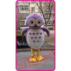 Mascot Pink Owl Mascot Costume Cosplany Cartoon