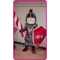 Mascot Knight Mascot Spartan Trojan Costume Cartoon