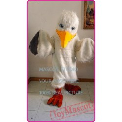 Seagull Mascot Costume Cartoon Anime