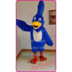 Mascot Blue Road Runner Mascot Costume Anime