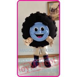 Mascot Auto Tire Automobile Mascot Costume