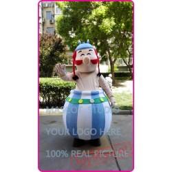 Mascot Obelix Mascot Costume