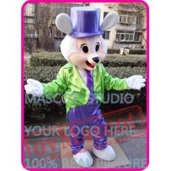 Mascot Mr Easter Bunny Rabbit Mascot Costume Cartoon Cosplay