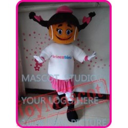 Mascot Tennis Girl Mascot Costume