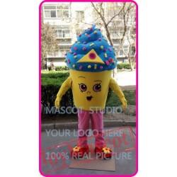 Icecream Cupcake Mascot Costume Cartoon