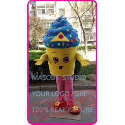 Icecream Cupcake Mascot Costume Cartoon