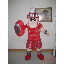 Mascot Spartan Knight Mascot Trojan Costume