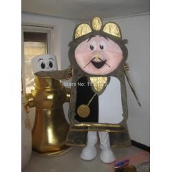 Golden Alarm Mascot Costume