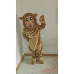 Lion Mascot Costume Simba Leo Cartoon Anime Cosplay