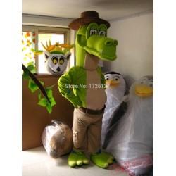 Crocodile The Aligator Mascot Costume Anime Cosplay