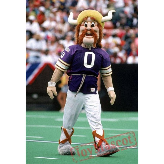 Vikings Football Sports Mascot Costume Celebration Carnival Outfit