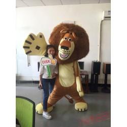 Actual Lion Mascot Costumes Christmas Womens / Mens Mascot