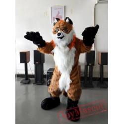 Fox Fursuit Mascot Costumes Christmas