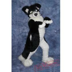 Border Collie Husky Dog Mascot Costume
