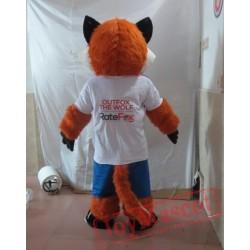 Fox Mascot Costume Celebration Carnival Outfit