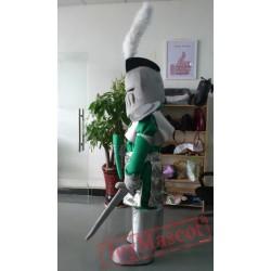Knight Frederica Mascot Costume Plush Cartoon Costumess