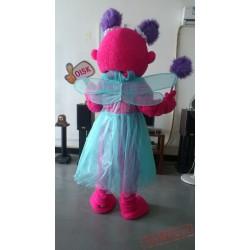 Abby Cadabby Mascot Costume Plush Cartoon Costumess