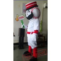 Baseball Sport Mascot Costume Plush Cartoon Costumess