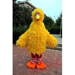 Yellow Big Bird Mascot Costume Plush Cartoon Costumess