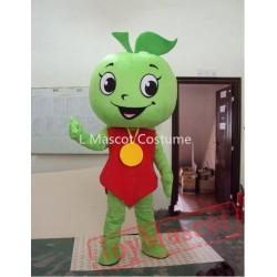 Little Green Apple Mascot Costume