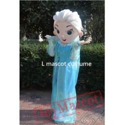 Revised Version Princess Elsa Halloween Cartoon Adult Animal Mascot Costume
