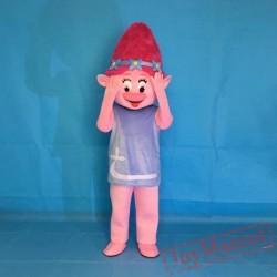 Trolls Mascot Parade Clowns Cosply Mascot Costume