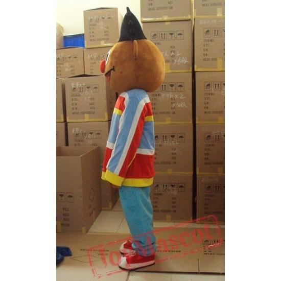 Sunshine Boy Lad Ernie Sesame Street Cartoon Mascot Costume