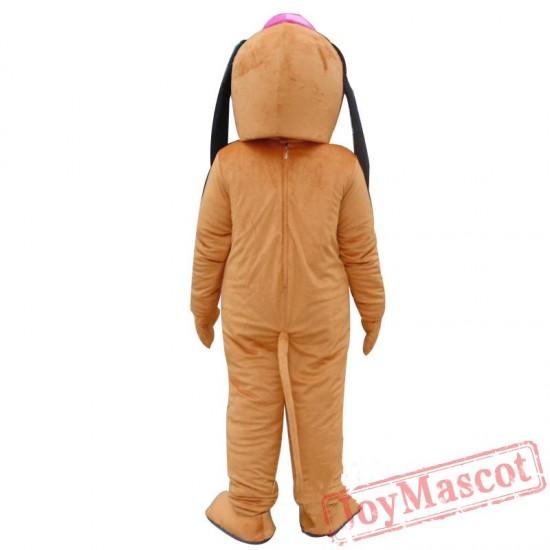 Pluto Dog Mascot Costume