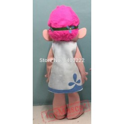 Trolls Mascot Parade Clown Mascot Costume