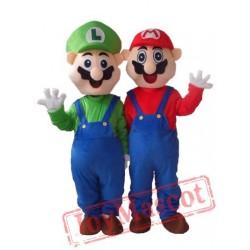 Super Mario Cartoon Mascot Costume Carnival Costume