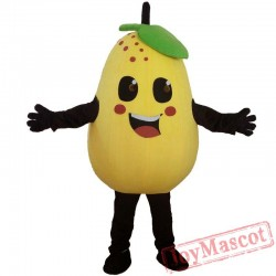 Fruits Vegetables Pears Mascot Costume Role Playing Cartoon Clothing