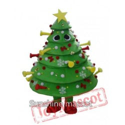 Santa Claus / Christmas Tree Mascot Costumes Christmas Gifts Play Mascot Clothing