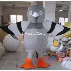 Good Pigeon Mascot For Adult