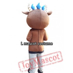 Cow Mascot Costume Mascot Costume