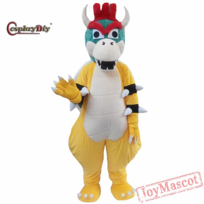 Super Mario Yoshi Dragon Turtle Costumes Adult Cartoon Cosplay For